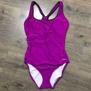 Speedo One Piece Swimsuit 14 Pink/Purple